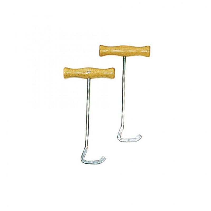 Laarzenaantrekker met houten handgreep