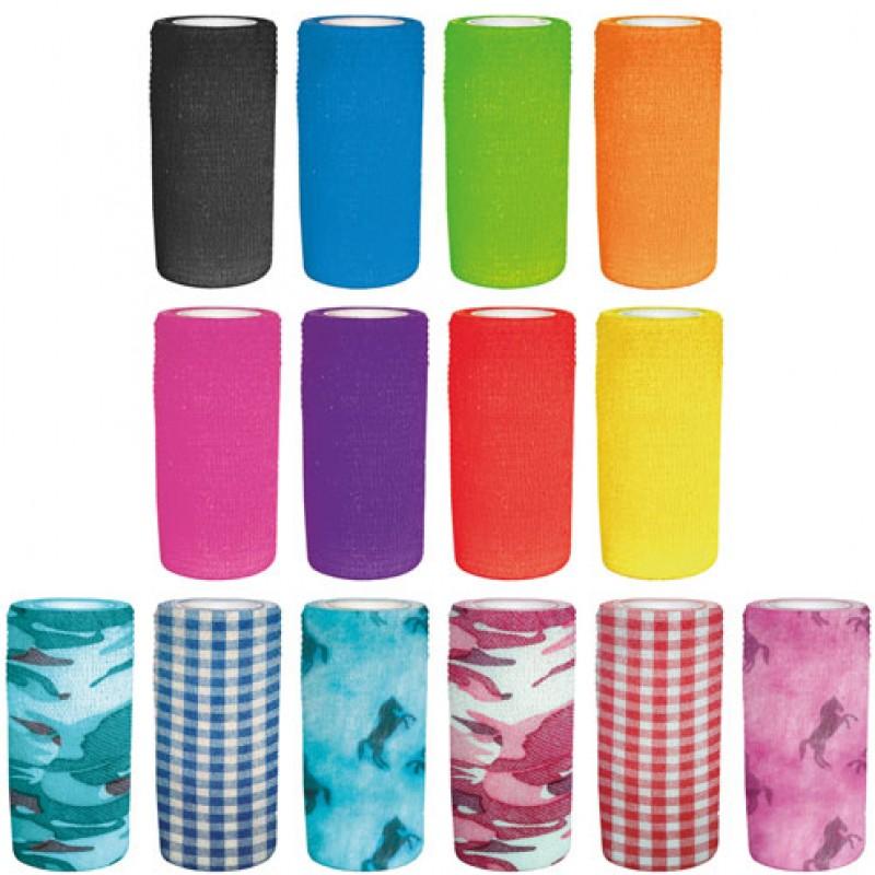 Elastische Zelfklevende Bandages 10cmx4,5m Perry