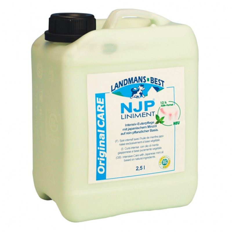 'NJP Liniment Original Uierverzorging' Bus 2500ml