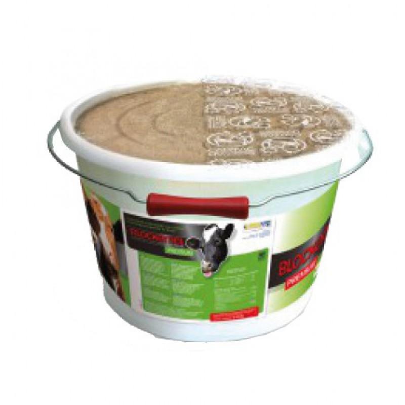 Mineralenemmer Premium voor rundvee Blockemel