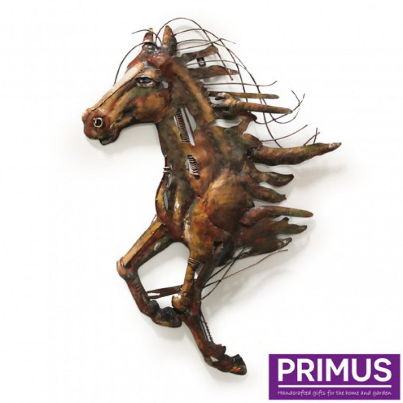 Abstract metal horse Primus