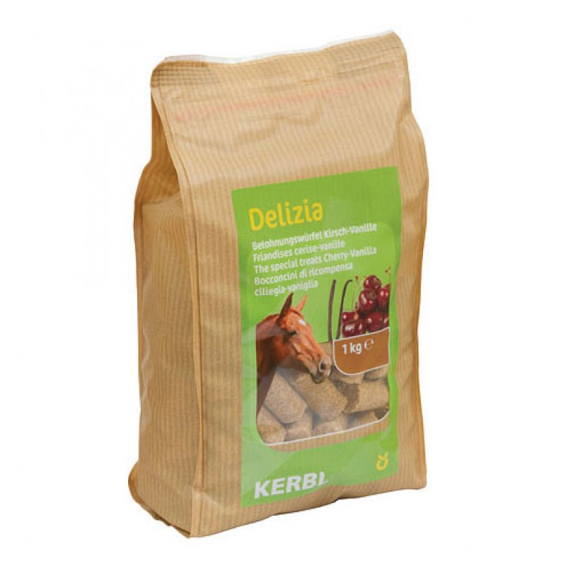 Delizia the Special Treats - Vanille/Kers 1kg