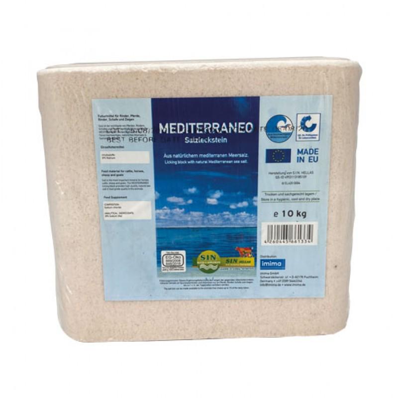 Zoutliksteen 'Mediterraneo' 10kg