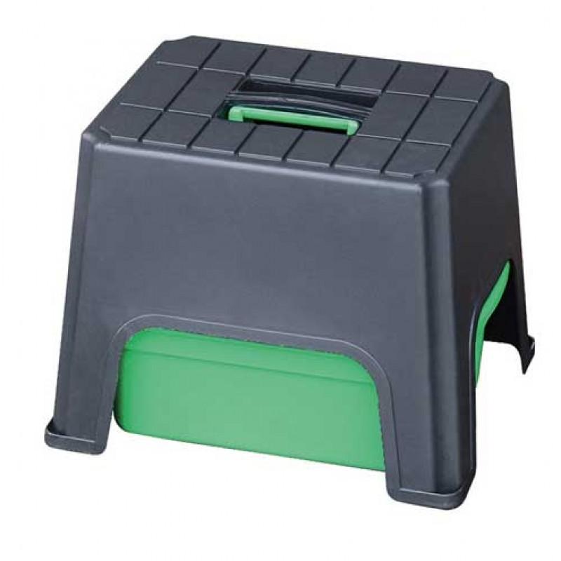 Poetsbox met opstapje combi 40x33x31cm Perry