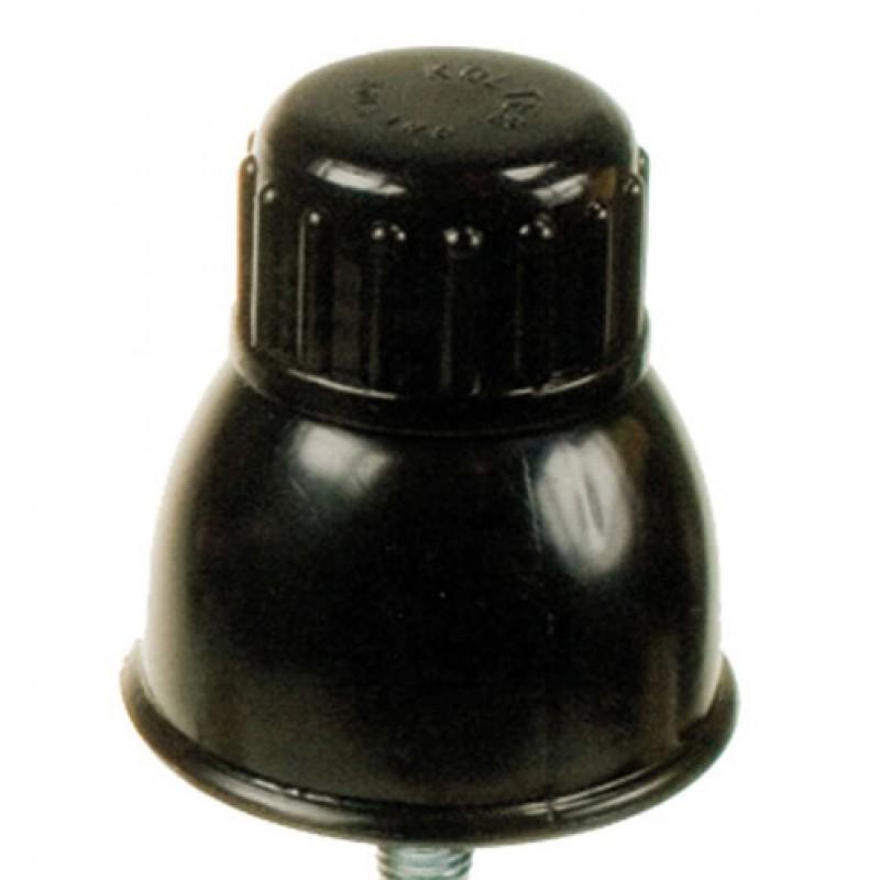 Schroefdop-isolator 8-10-12 mm, 25 stuks