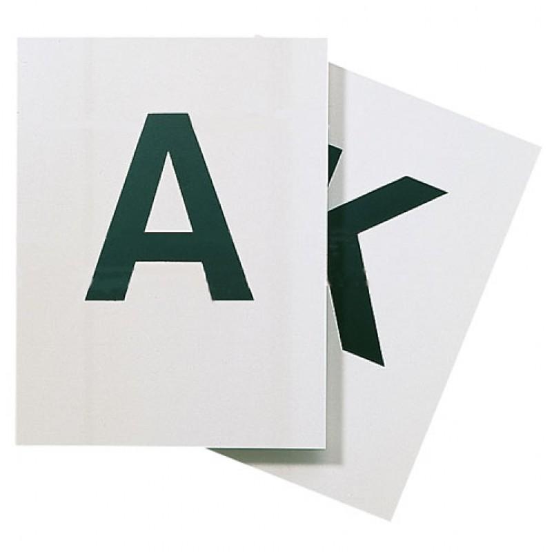 Dressuurletters kunststof, set 8 stuks (A,K,E,H,C,M,B,F)