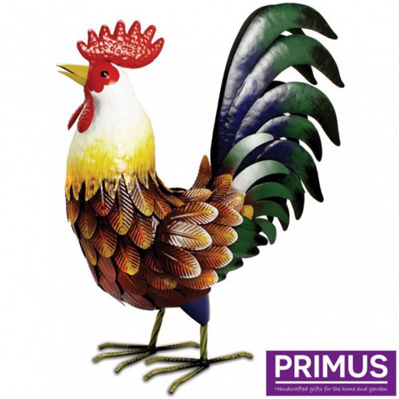 Farmyard Metal Rooster Primus