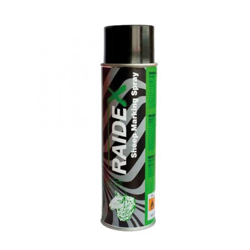 Schapenmerkspray 500 ml groen Raidex