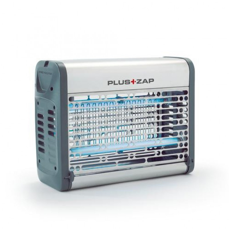 Elektrische vliegenverdelger RVS Plus Zap, 2 x 8 Watt