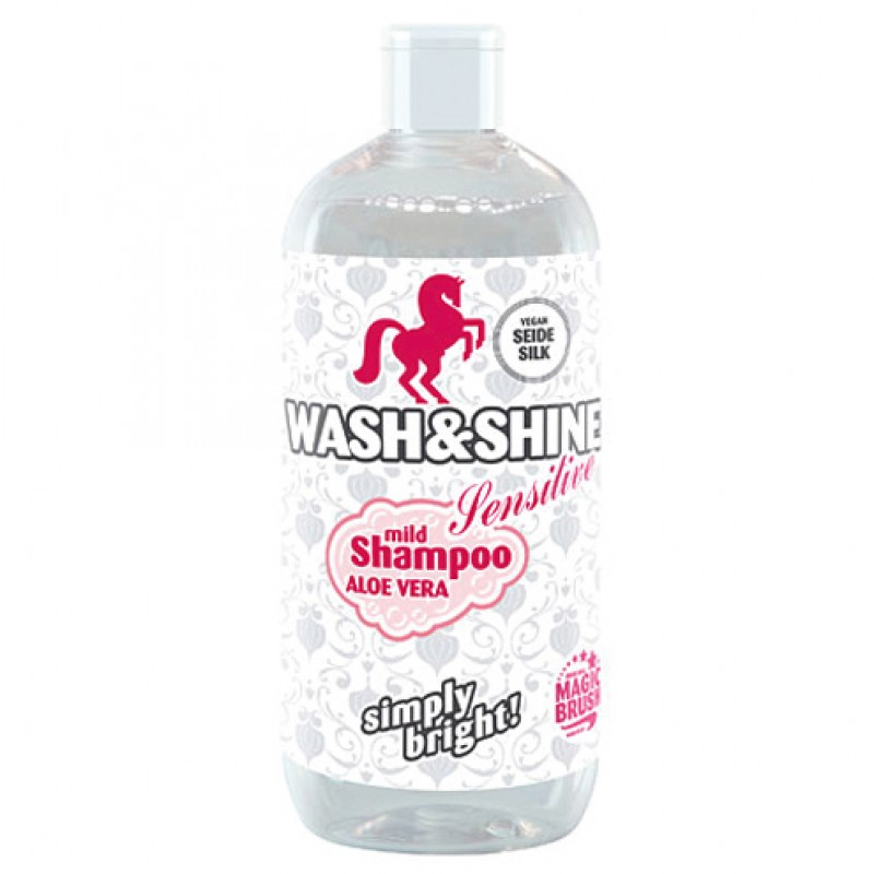 Wash & Shine shampoo 'Sensitive' MagicBrush