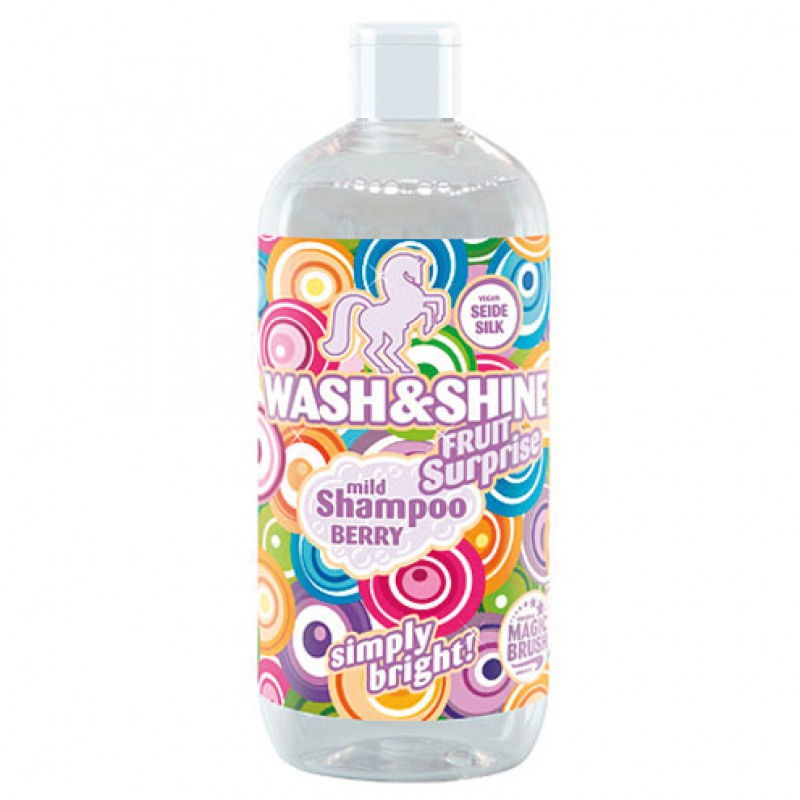 Wash & Shine shampoo 'Fruitsurprise' 500ml MagicBrush