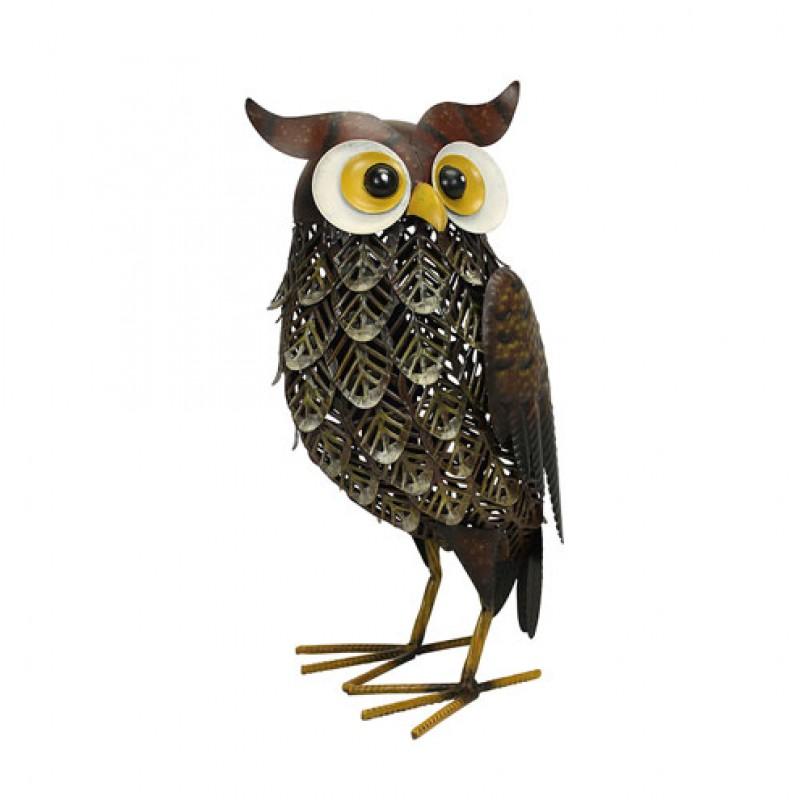 Brown metal Woodlands Owl Primus