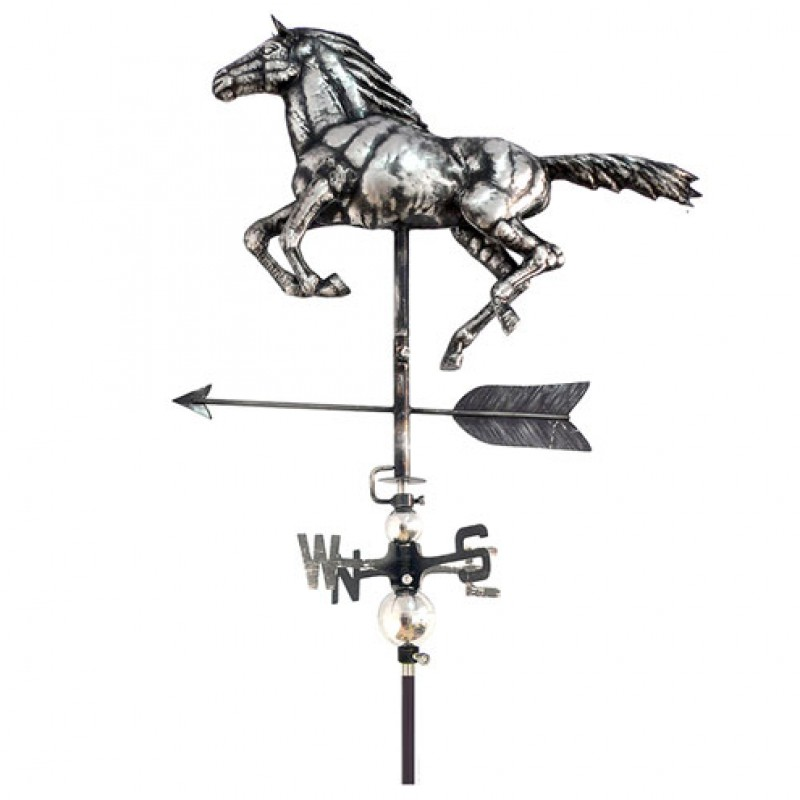 3D Horse Weathervane with garden stake Primus