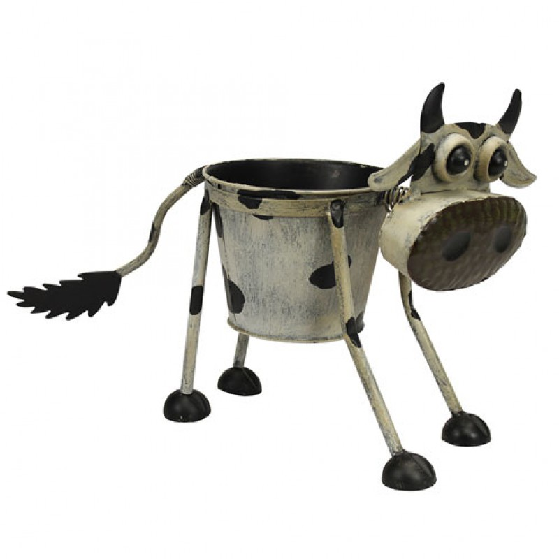 Nodding Goofy Cow Planter Primus