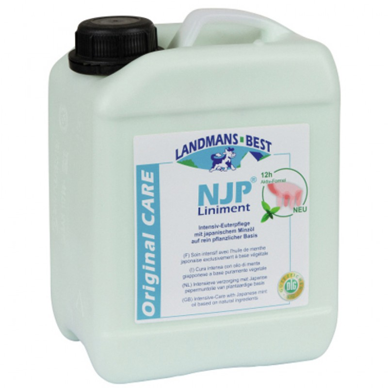 'NJP Liniment Original Uierverzorging' Bus 5000ml