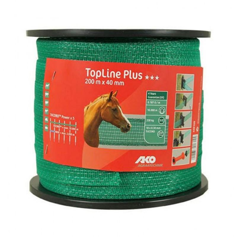 AKO Schriklint 'TopLine Plus' groen 40mmx200m