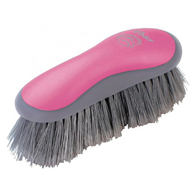 Reinigingsborstel hard roze Oster