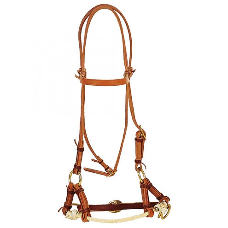Side-Pull 1-Rope Harnessleder