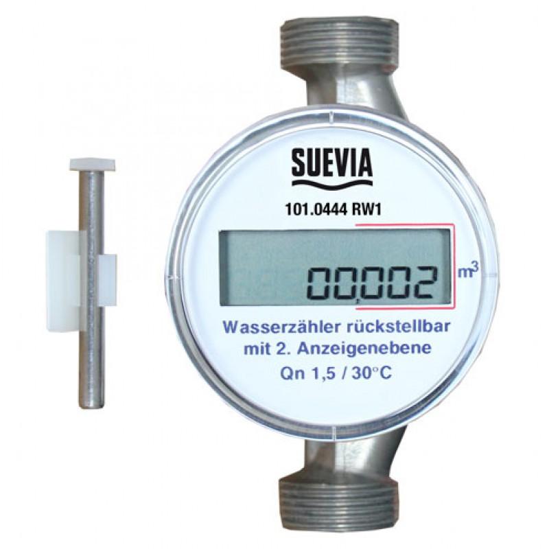 Suevia 101.0444 Watermeter resetbaar