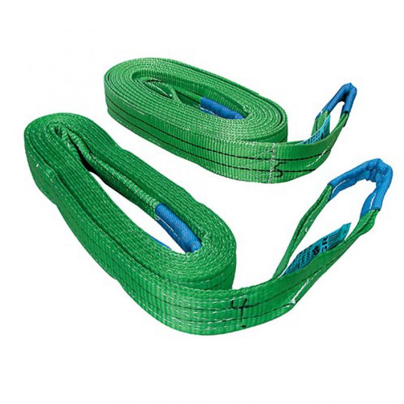 Hijsband lengte 200 cm groen