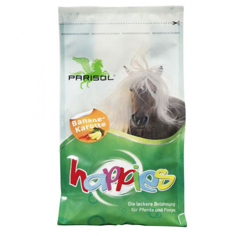 Happies snacks 'Banaan/Wortel' 1kg