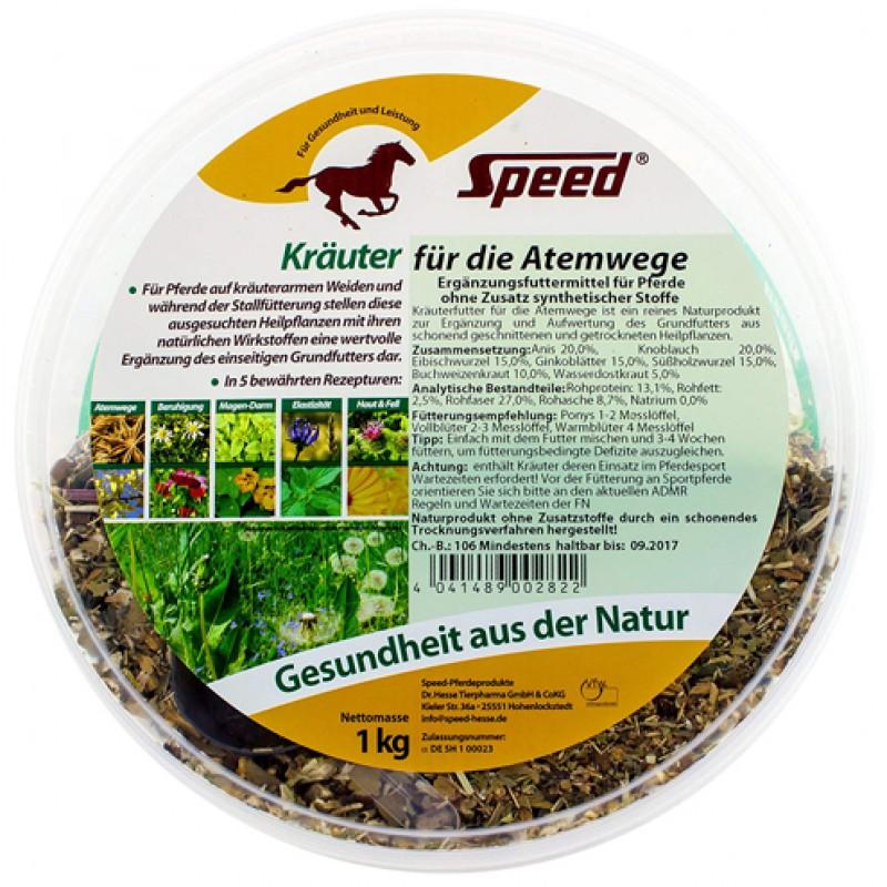 Kruiden voor luchtwegen 1kg Speed