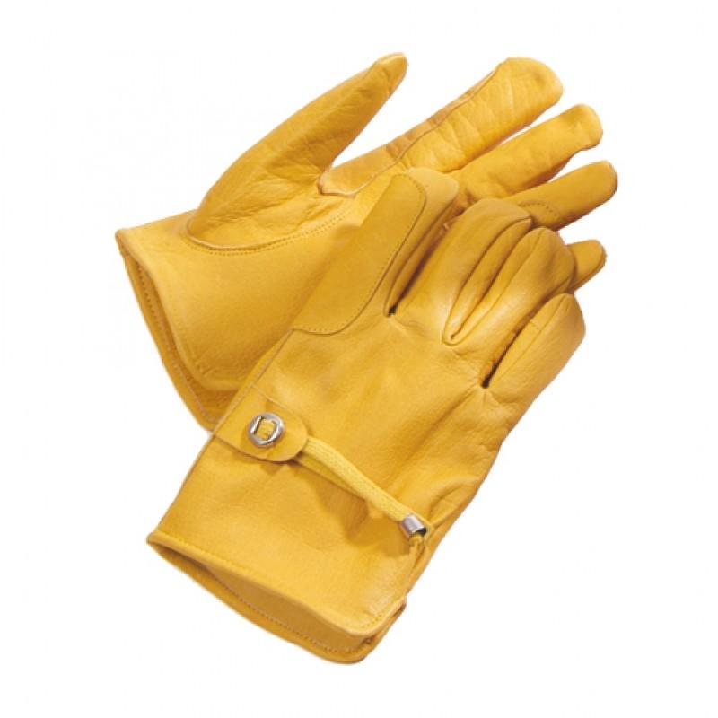 Lederen handschoenen 'Western' ongevoerd