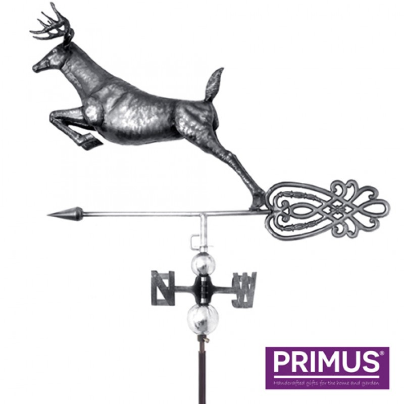 3D Deer Weathervane with Garden Stake Primus
