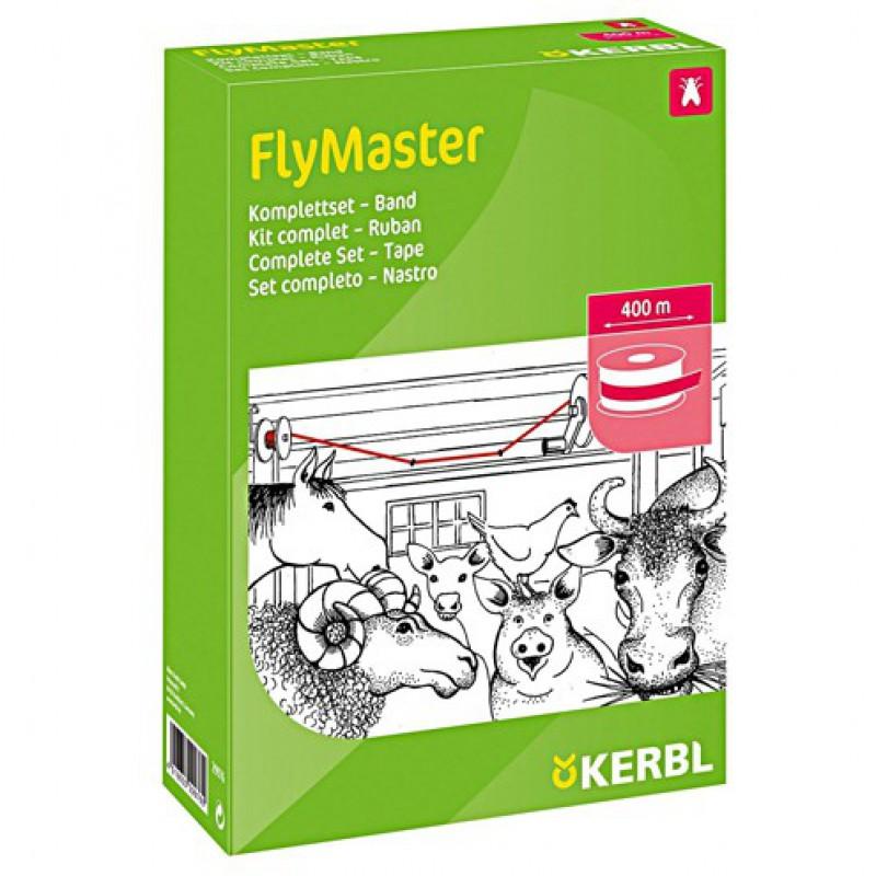 Vliegenlint 400 meter, complete set, 'Flymaster'