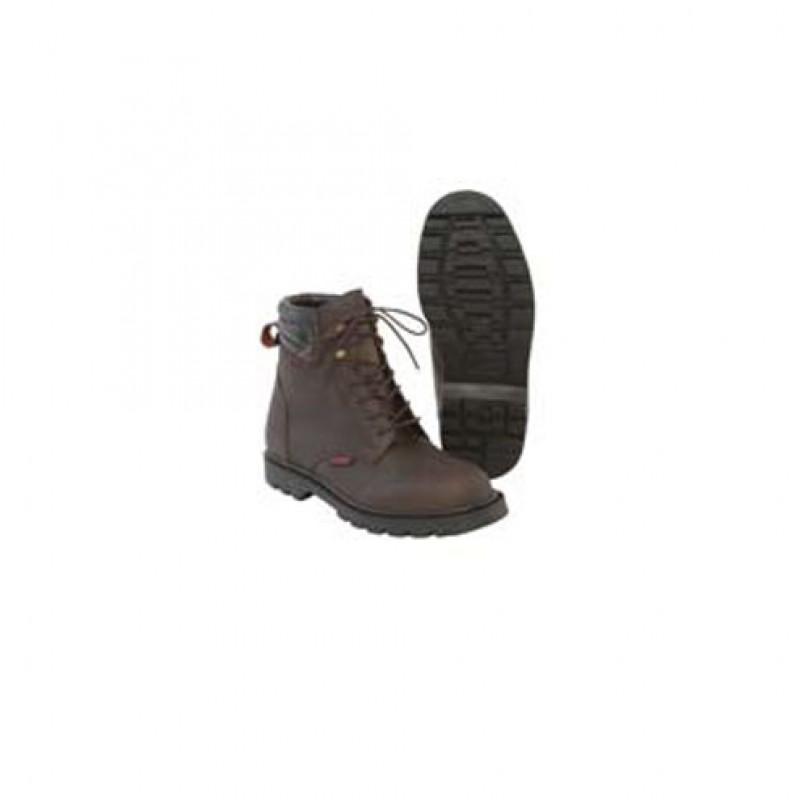 Outdoor schoenen met veters, rundsleder