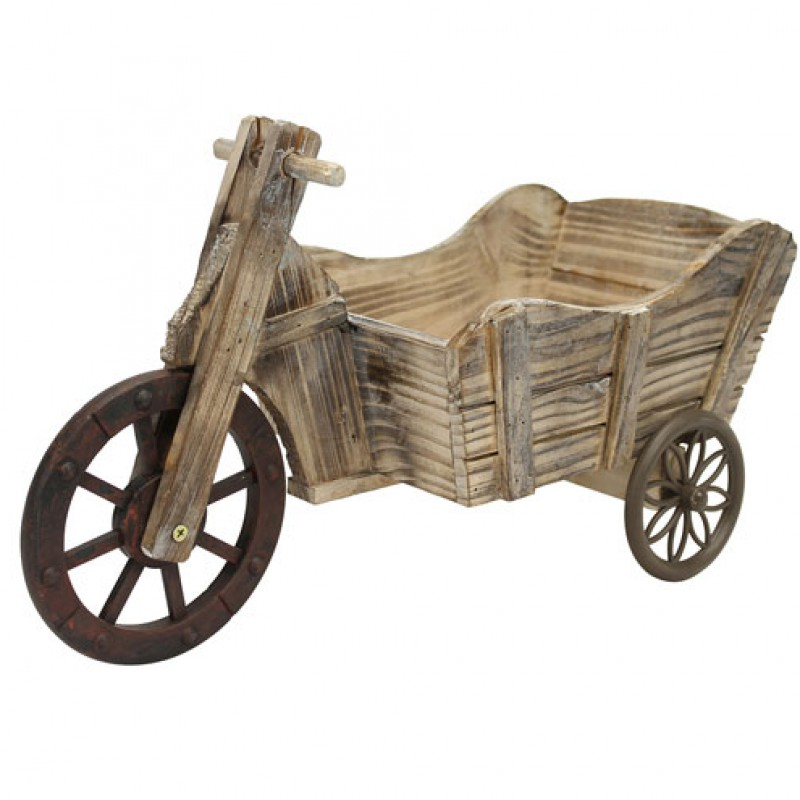 Wooden Tricycle Planter Primus