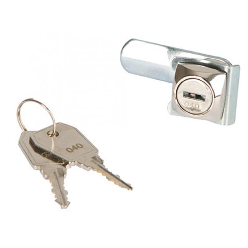 Vervangslot met 2 sleutels voor zadelkast Kerbl