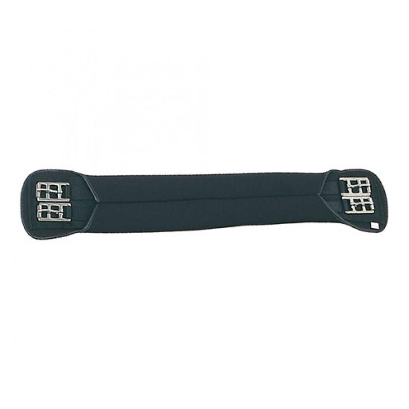 Dressuursingel Neopreen met RVS gespen 35-75cm