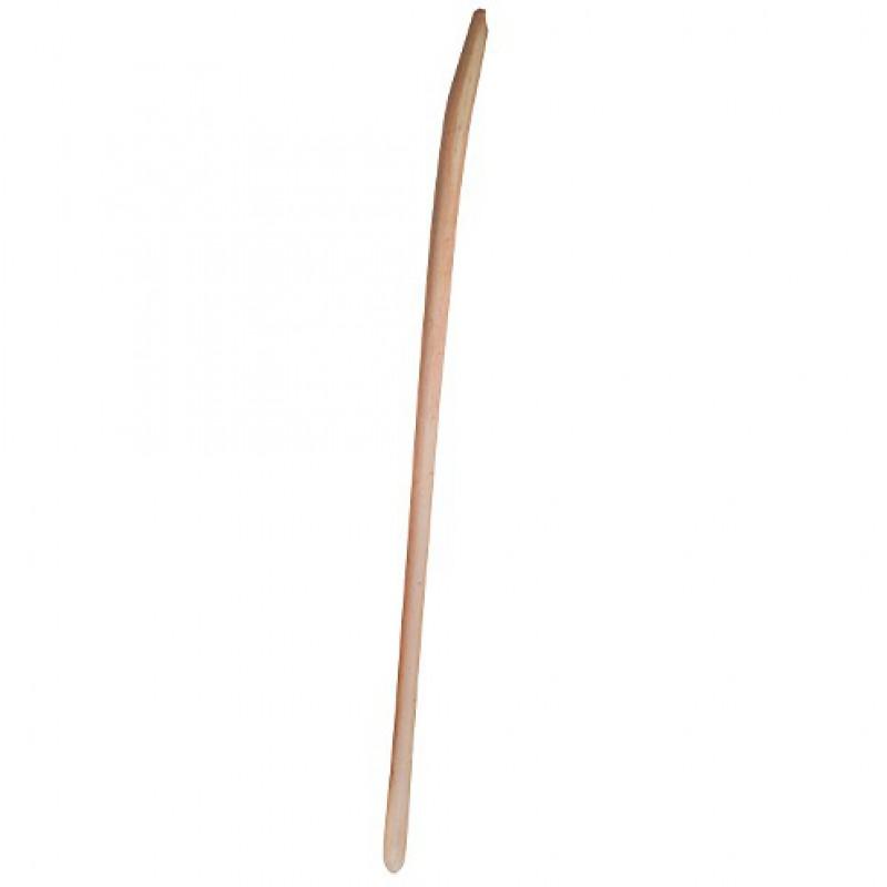 Gebogen schopsteel 41mmx150cm