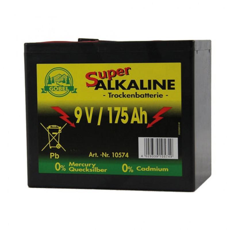 Pile alcaline 9V/175Ah, Göbel