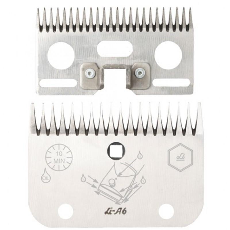 Stel messen 'A6'  24/18 tanden Liscop