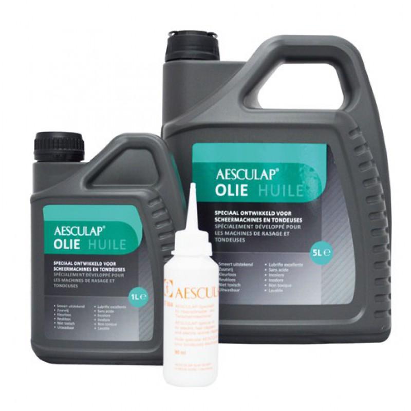 L'huile pour tondeuse 5 litres Aesculap