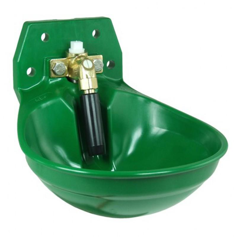 """Suevia 100.0123 drinkbak '12P' met messing ventiel ¾"""" groen"""