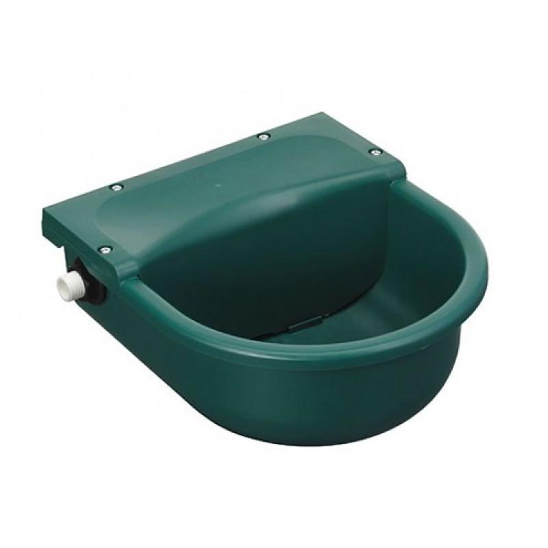 Kunststof vlotterdrinkbak groen 3L