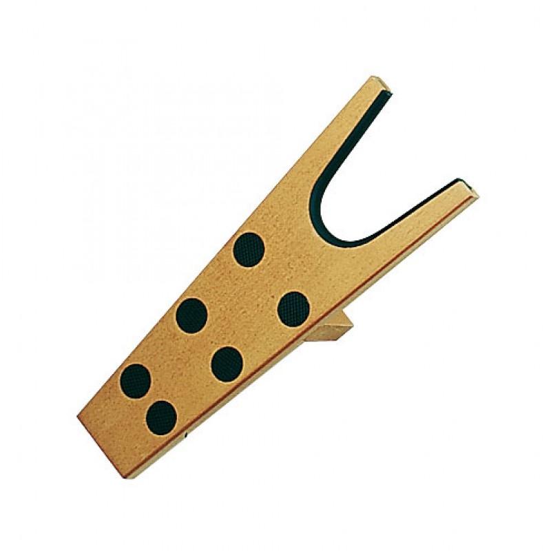 Laarzenknecht hout met noppen