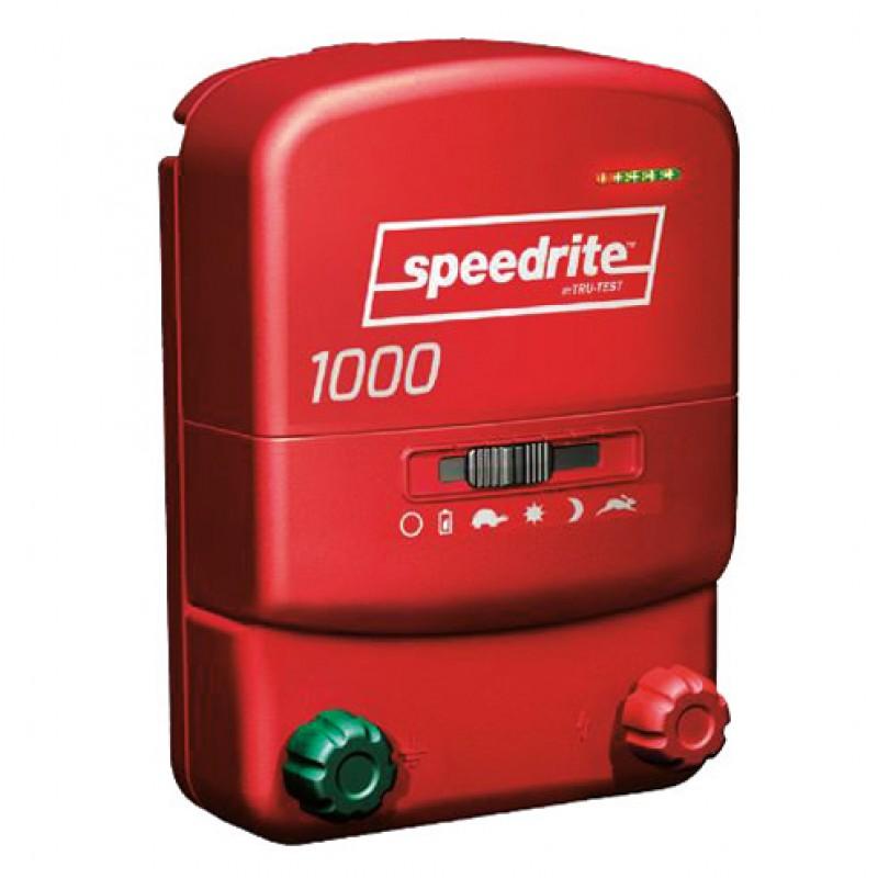 1000 électrificateur bi-énergie Speedrite