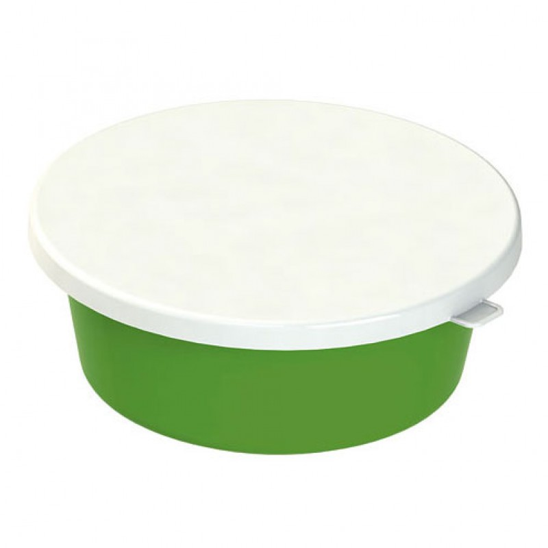 Deksel wit voor voerschaal 6 liter