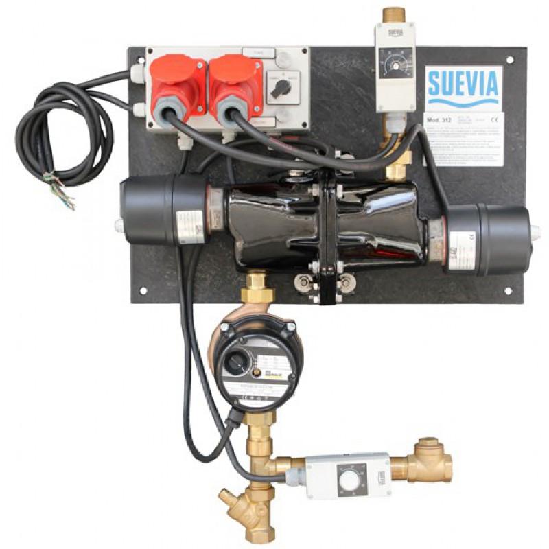 Suevia 101.0312 Warm watercirculatie-unit '312' 230-400 volt