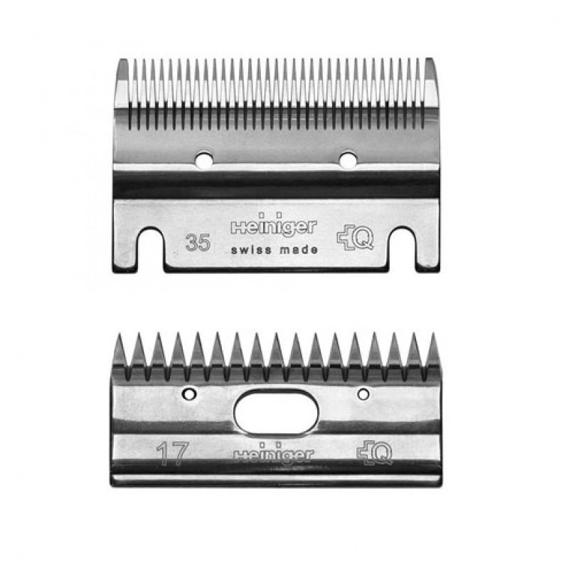 Heiniger 703-600 stel messen 35/17 tanden