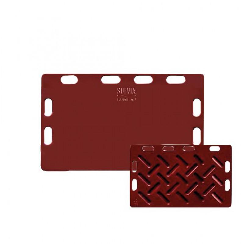 Suevia 300.0487 drijfplank 125x76 cm rood