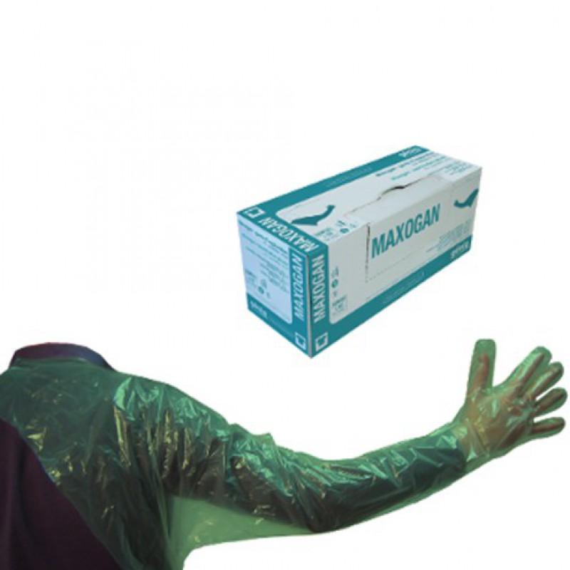 Handschoenen Maxogan met schouderstuk, doos 50 stuks