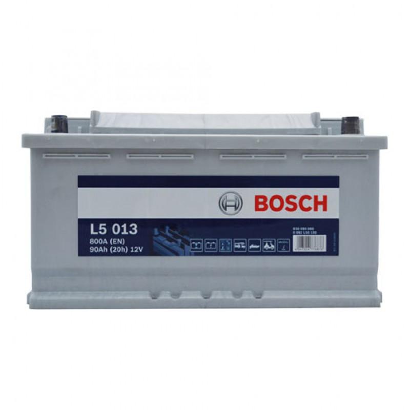 Premium semi-tractie accu 12V/90Ah Bosch
