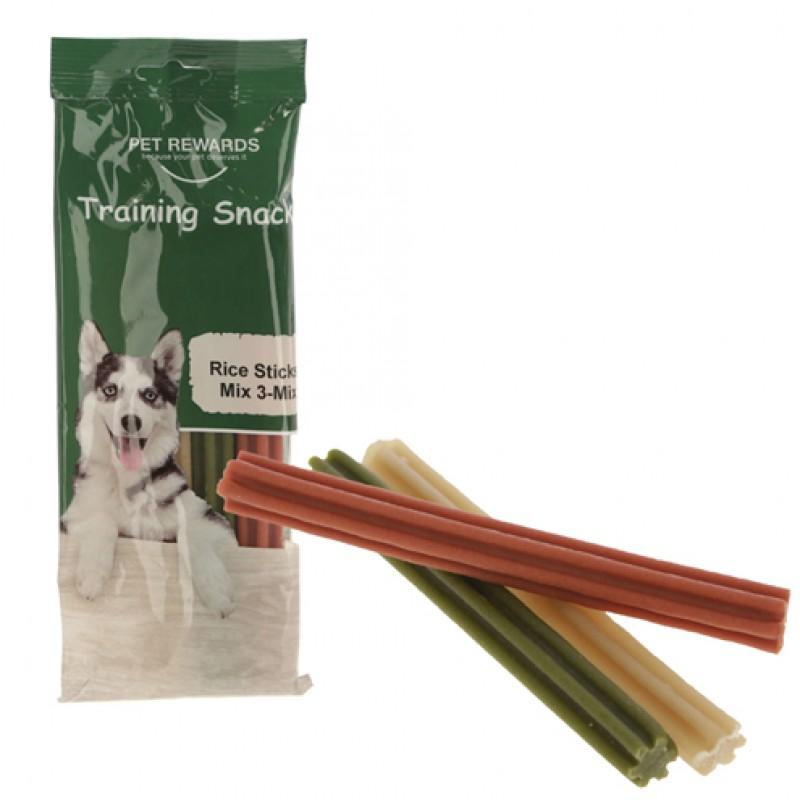Pet Rewards Rice Sticks Mix 140g
