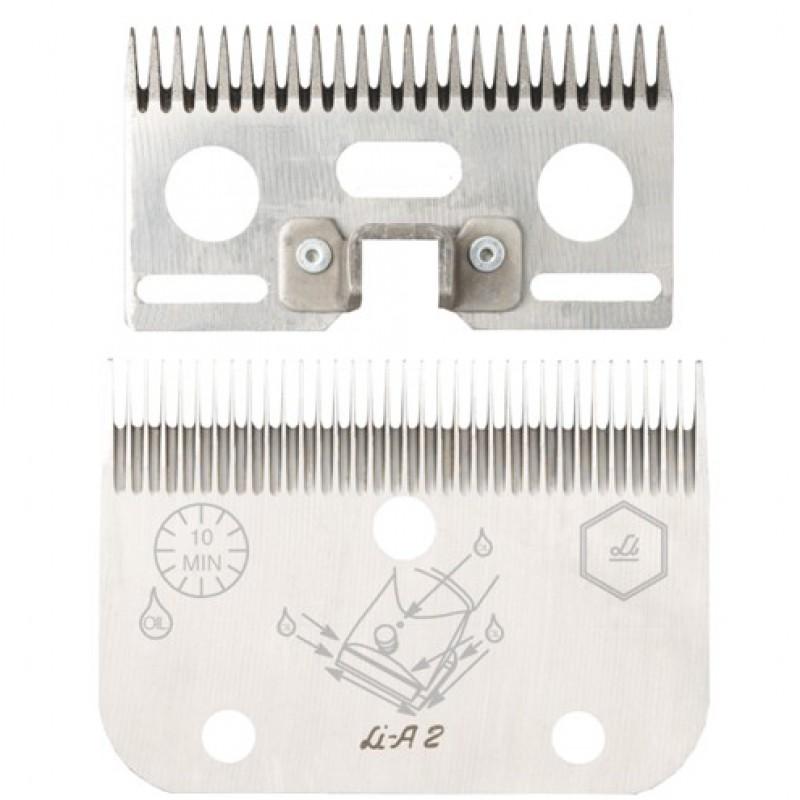Jeu de peignes 'A2' 24/35 dents 3mm Liscop