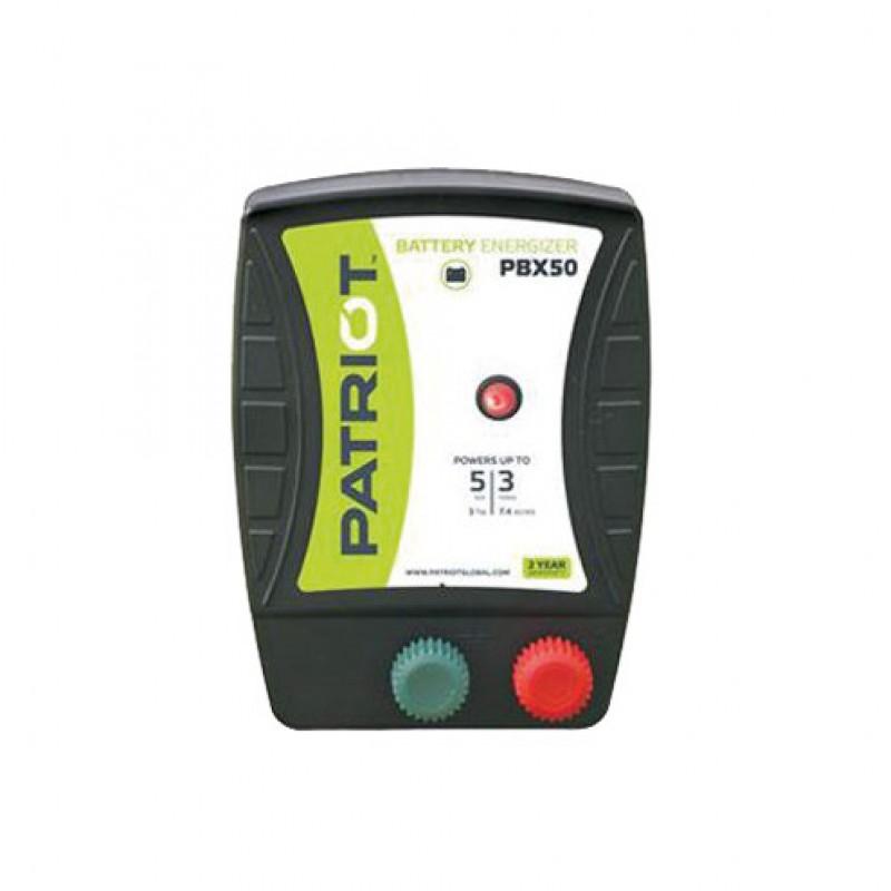 Patriot PBX50 appareil sur batterie